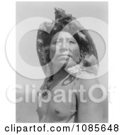 Crow Indian The Eagle Medicine Man Free Historical Stock Photography