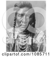 Crow Native American Called Strike On His Hea Free Historical Stock Photography