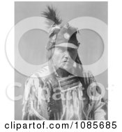 Crow Native American Man Called Forked Iron Free Historical Stock Photography