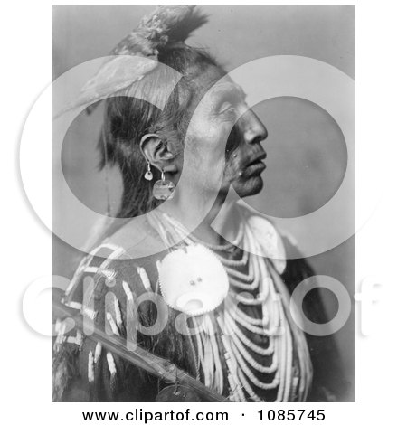 Crow Native American Man Called Medicine Crow - Free Historical Stock Photography by JVPD