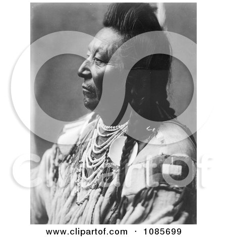 Crow Native American Man Called Plenty Coups - Free Historical Stock Photography by JVPD