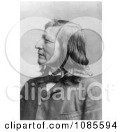 Dakota Indian Chief Luther Standing Bear Free Historical Stock Photography