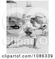 Del Pratt Catching A Baseball In 1913 Free Historical Baseball Stock Photography by JVPD