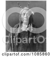 Eagle Child Atsina Indian Man Free Historical Stock Photography by JVPD