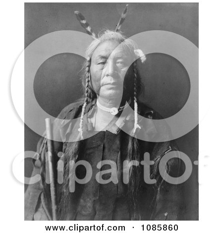 Eagle Child, Atsina Indian Man - Free Historical Stock Photography by JVPD