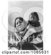 Eagle Feather With Baby Sioux Indians Free Historical Stock Photography