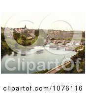 East Farleigh Lock On The River Medway Maidstone Kent England UK Royalty Free Stock Photography