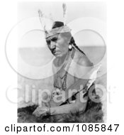Fat Horse Native American Man Free Historical Stock Photography