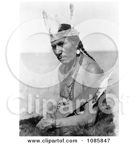 Fat Horse, Native American Man - Free Historical Stock Photography by JVPD