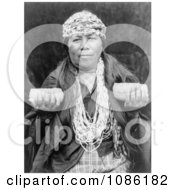Female Hupa Shaman Free Historical Stock Photography by JVPD
