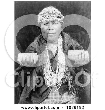 Female Hupa Shaman - Free Historical Stock Photography by JVPD