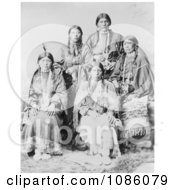 Five Ute Women Free Historical Stock Photography
