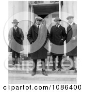 George Herman Ruth At The White House Free Historical Baseball Stock Photography by JVPD