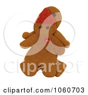 Gingerbread Man And Elf Royalty Free Stock Photo by Kenny G Adams