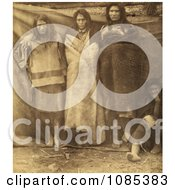 Group Of Colville Indians Free Historical Stock Photography