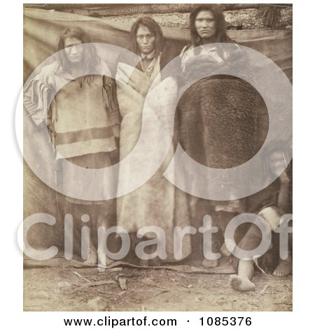 Group of Colville Indians - Free Historical Stock Photography by JVPD