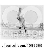 Hal Chase Throwing A Baseball In 1911 Free Historical Baseball Stock Photography by JVPD
