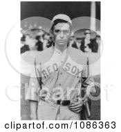Harry Bartholomew Hooper Of The Boston Red Sox Baseball Team In Uniform Free Historical Baseball Stock Photography by JVPD