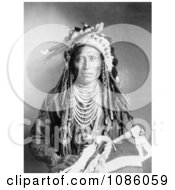 Heebe Tee Tse Shoshone Indian Free Historical Stock Photography by JVPD
