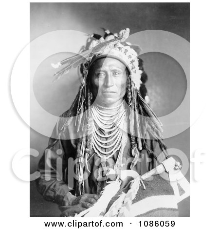 Heebe-tee-tse, Shoshone Indian - Free Historical Stock Photography by JVPD