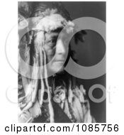 Hidatsa Indian Man By The Name Of White Duck Free Historical Stock Photography