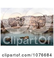 Historical Boats In The Harbour Of Brixham Devon England United Kingdom Royalty Free Stock Photography