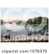 Historical Bowness On Windermere Windermere In South Lakeland Cumbria England United Kingdom Royalty Free Stock Photography