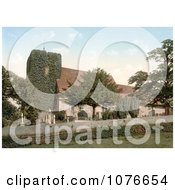 Historical Crosses Marking The Graves At St MartinS Church In Canterbury Kent England Royalty Free Stock Photography