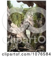 Historical Formations Of The Watermouth Cove Caves In Ilfracombe Devon England Royalty Free Stock Photography