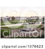 Historical Gazebo And Water Fountain In The Park In Devonport England Royalty Free Stock Photography