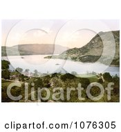 Historical Hotel On Ullswater Lake In Patterdale Lake District England UK Royalty Free Stock Photography