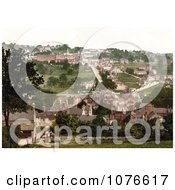 Historical Matlock Bank Derbyshire England Royalty Free Stock Photography