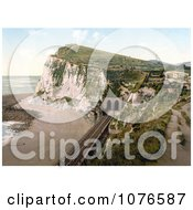 Historical ShakespeareS Cliff Train Tunnel In Dover England Royalty Free Stock Photography by JVPD