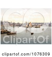 Historical Ships In The Harbour In Ramsgate Thanet Kent England UK Royalty Free Stock Photography