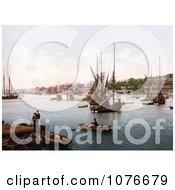 Historical Ships On The River Medway In Chatham Kent England United Kingdom Royalty Free Stock Photography