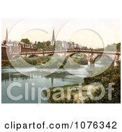 Historical Shrewsbury Shropshire West Midlands England United Kingdom Royalty Free Stock Photography