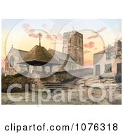 Historical St MaryS Church In Morthoe Devon England Royalty Free Stock Photography