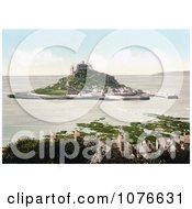 Historical St MichaelS Mount Castle On MountS Bay Penzance Penwith Cornwall England United Kingdom Royalty Free Stock Photography