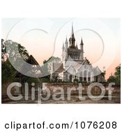 Historical St MildredS Church In Whippingham Isle Of Wight England Royalty Free Stock Photography