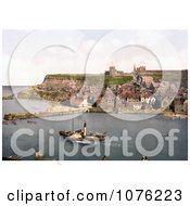 Historical Steamboat In The Harbor At Whitby North Yorkshire England UK Royalty Free Stock Photography