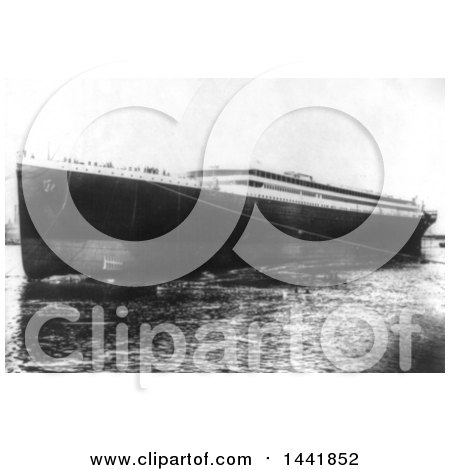 Historical Stock Photo of the RMS Titanic by JVPD