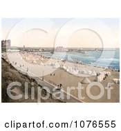 Historical Tents On The Beach In Gorleston Norfolk England Royalty Free Stock Photography