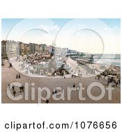 Historical The Aquarium And Clock Tower In Brighton East Sussex England UK Royalty Free Stock Photography