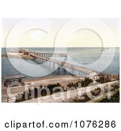 Historical The Birnbeck Pier On The Bristol Channel In Weston Super Mare North Somerset England UK Royalty Free Stock Photography