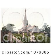 Historical The Burial Grounds Of St MaryS Church In Lydney Forest Of Dean Gloucestershire England UK Royalty Free Stock Photography