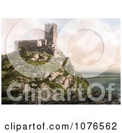 Historical The Church Of St Michael On Top Of Brent Tor Brentor Dartmoor Devon England Royalty Free Stock Photography