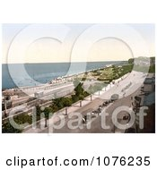 Historical The Esplanade And Waterfront Of Ryde Isle Of Wight England UK Royalty Free Stock Photography