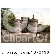 Historical The Gateway Of Skipton Castle In Craven Skipton North Yorkshire Royalty Free Stock Photography
