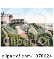 Historical The Grand Hotel On The Leas In Folkestone Kent England Royalty Free Stock Photography by JVPD