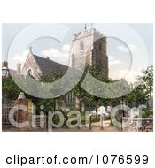 Historical The Historical St MaryS Church In Folkestone England Royalty Free Stock Photography